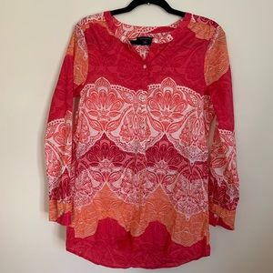 Lands' End Tropical Tunic
